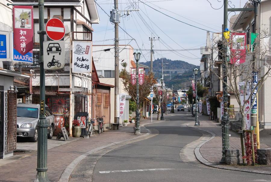 旅行記 ・初恋通り - 熊本県水俣市